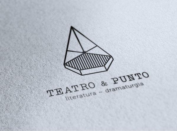 TEATRO & PUNTO / Brand Identity by Javier Muñoz, via Behance