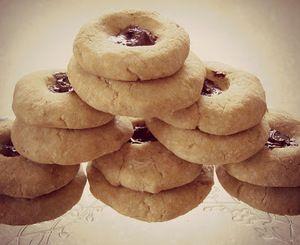 Bezlepkové sušenky z rýžové mouky