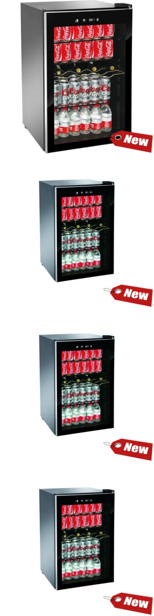 Mini Fridges 71262: Mini Beverage Refrigerator Wine Cooler Chiller Small Fridge 150 Can Soda Beer -> BUY IT NOW ONLY: $190.21 on eBay! http://www.winecoolerhub.com/whynter-wine-coolers-for-sale/