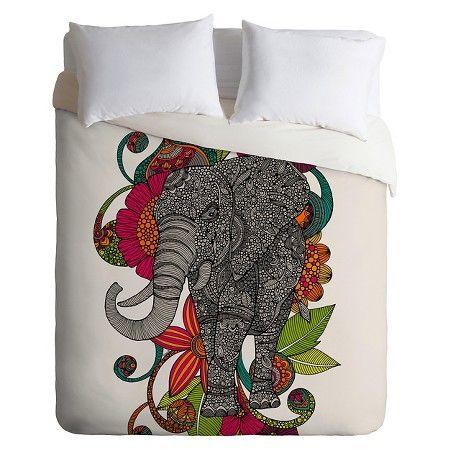 deny designs valentina ramos ruby the elephant lightweight duvet cover target