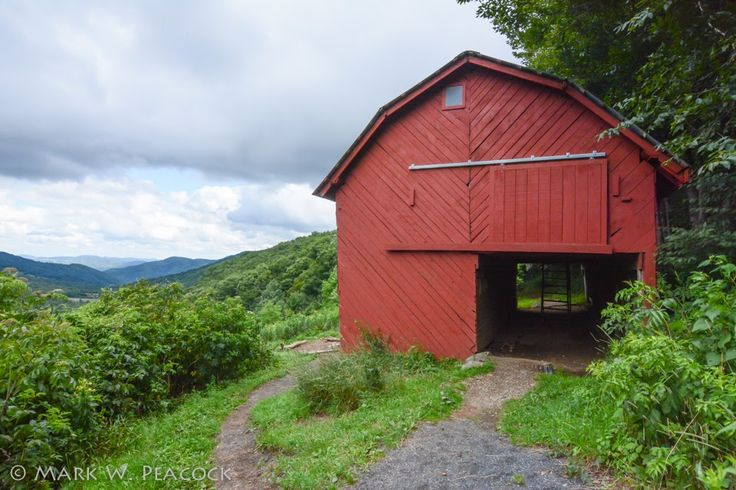 Think, deer lick shelter on appalachian trail