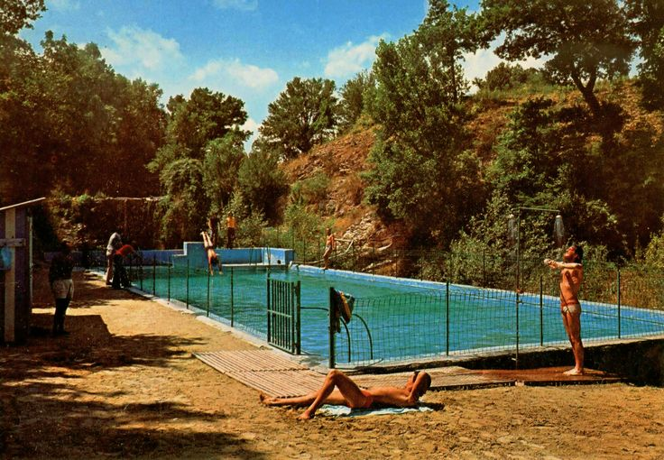 Anni 60 - La piscina di Valrea