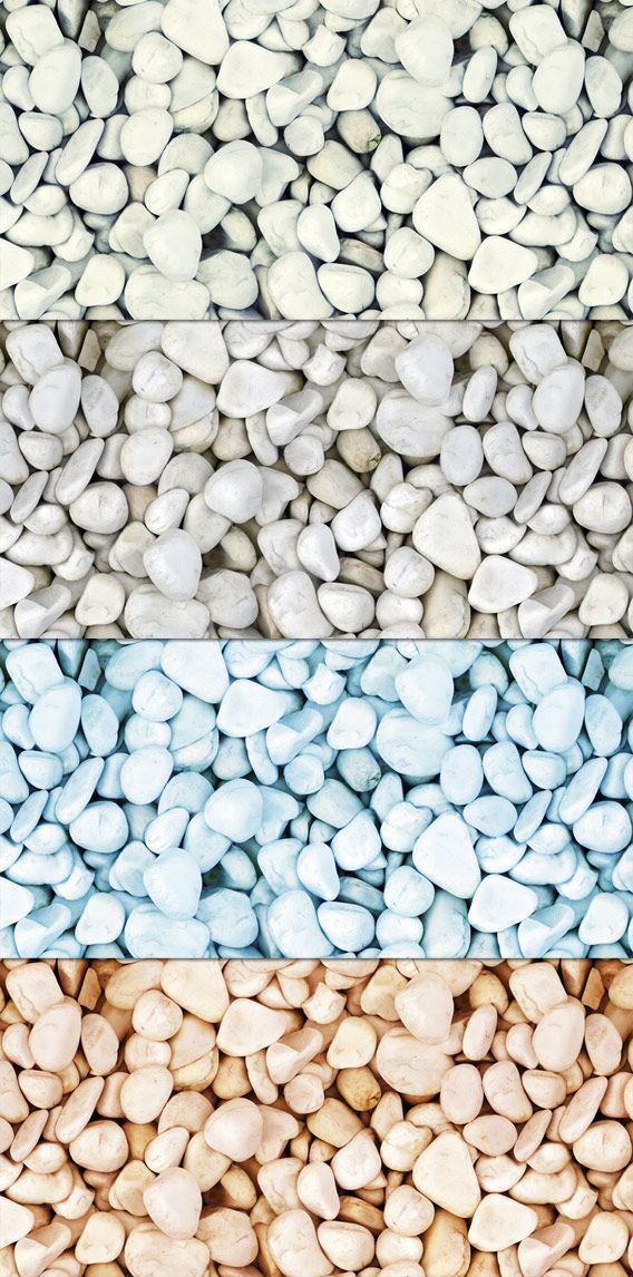 Tileable Stone Texture with 5 Colors