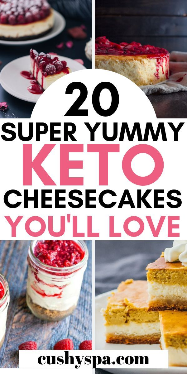 20 Delicious Keto Cheesecake Recipes You Have to Try
