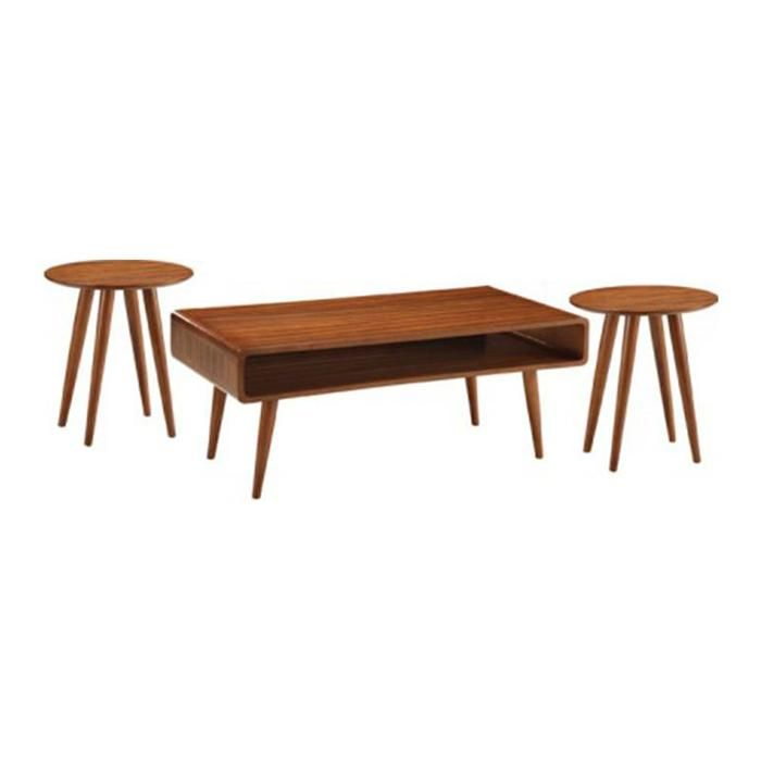 3 Piece Svenska Table Set In Walnut