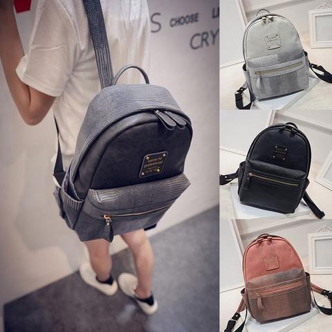 $23.26 - Fashion Zippered School Backpacks