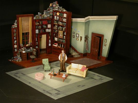 Who's Afraid of Virginia Woolf? by Edward Albee for State Theatre of South Australia, 2003, set Vitoria Lamb - Theatre