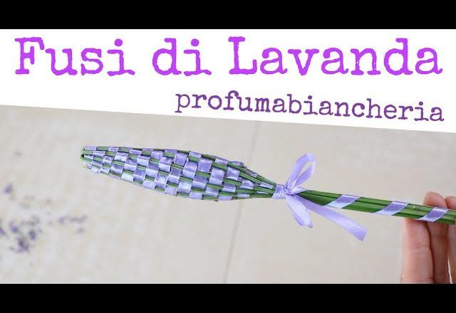 JAK SE DO I Fusi TWISTED FLOWER Parfémy Lavender prádlo - Jak si vyrobit Lavender hůlky