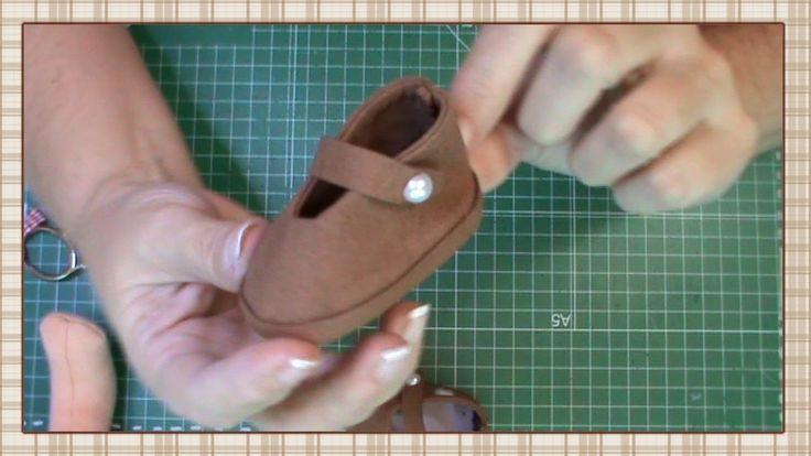 Tutorial: Zapatos para muñecas                                                                                                                                                                                 Más