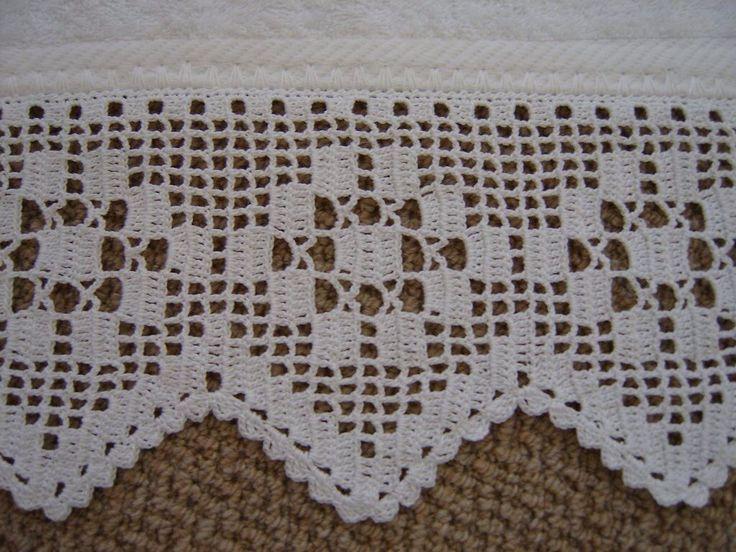 Lindo barrado para toalha