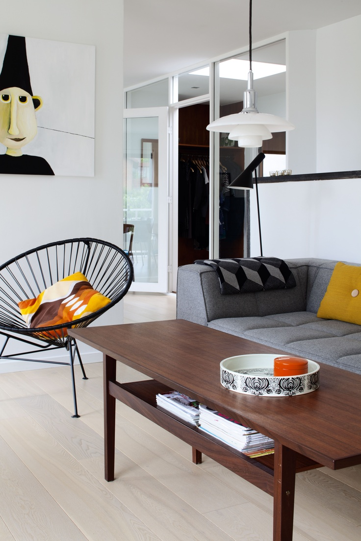 Acapulco chair living room - Acapulco Chair Fr Kenernes Hus I Vejle Boliger Bo Bedre Living Room