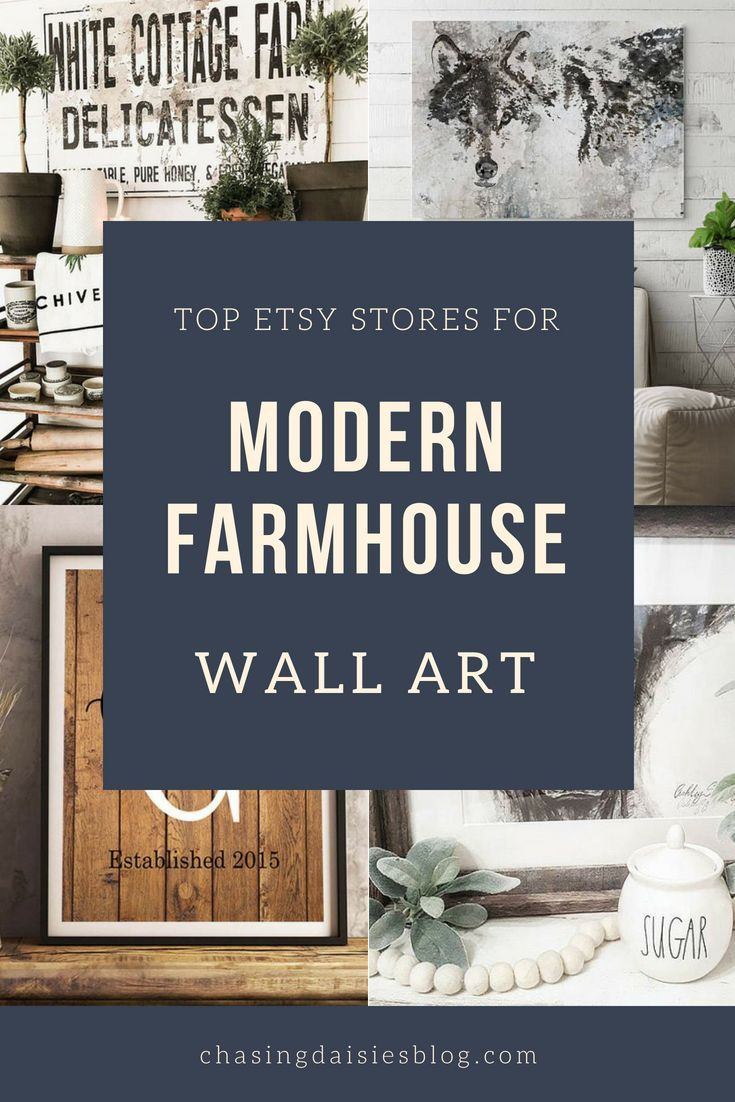 The Best Etsy Stores For Modern Farmhouse Wall Art Farmhouse Chic Bedroom Farmhouse Artwork Farmhouse Wall Art