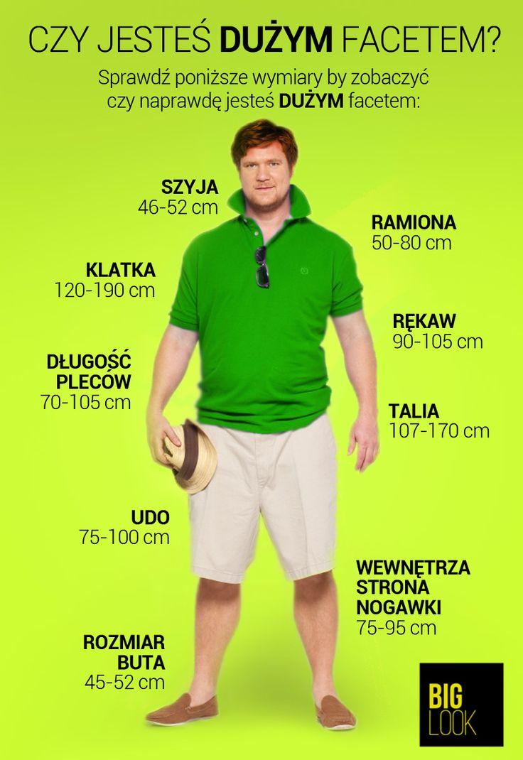 Czy jesteś dużym mężczyzną ?