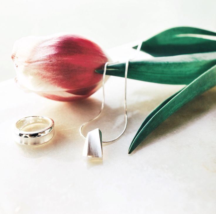 Paletti Jewelry Tahto-sormus ja kaulakoru. www.palettikorut.fi