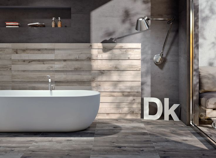 Bathroom Tiles? Ceramic stoneware tiles old wood effect: Dakota Flaviker