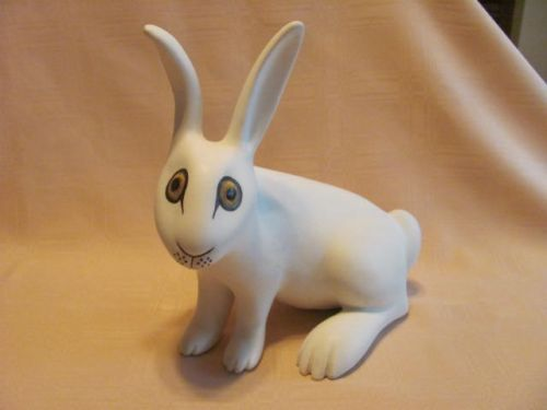 Strawberry Hill Pottery Large Rabbit Mint and RARE | eBay