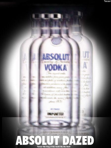 Absolut. My favorite vodka. Original, non-flavored, please.