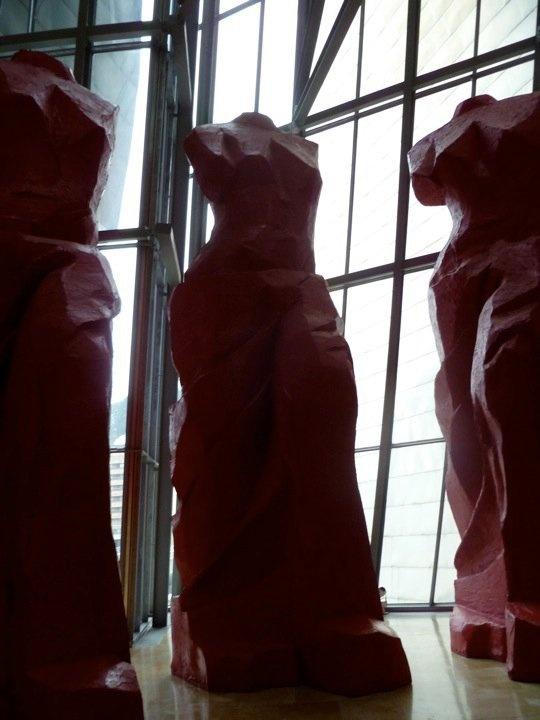 Bilbao Jim Dine via Madeline Waggoner