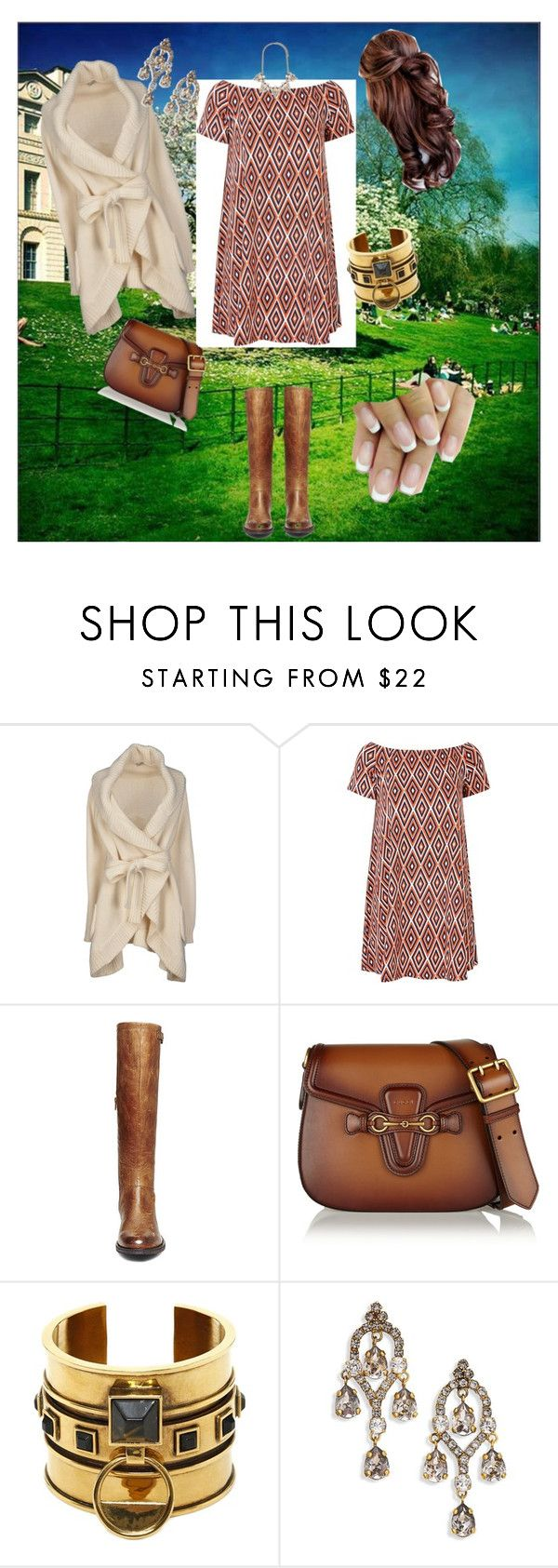 """""""Early spring"""" by boopreski ❤ liked on Polyvore featuring Le Ragazze Di St. Barth, Glamorous, Steve Madden, Gucci, Alexander McQueen, Erickson Beamon and Forever 21"""