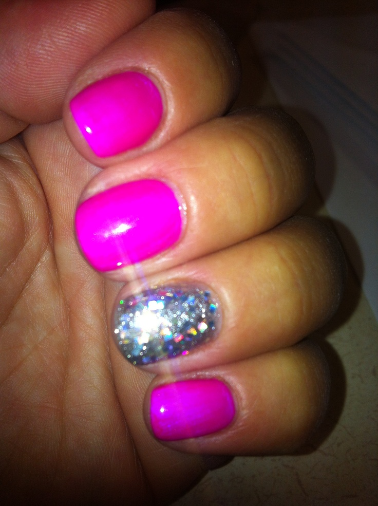 My nails: IBD Gel polish in Plum Crazy; accent nail IBD Gel polish in Polar Sky and loose holographic square glitter overlay