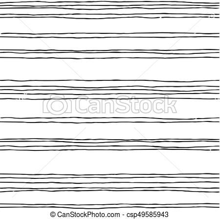 Vector - Abstract irregular striped background. Seamless pattern.