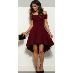 Resultado de imagen para vestidos vinotinto