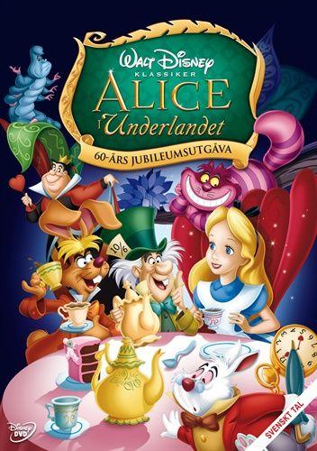 Alice I Underlandet Tecknad