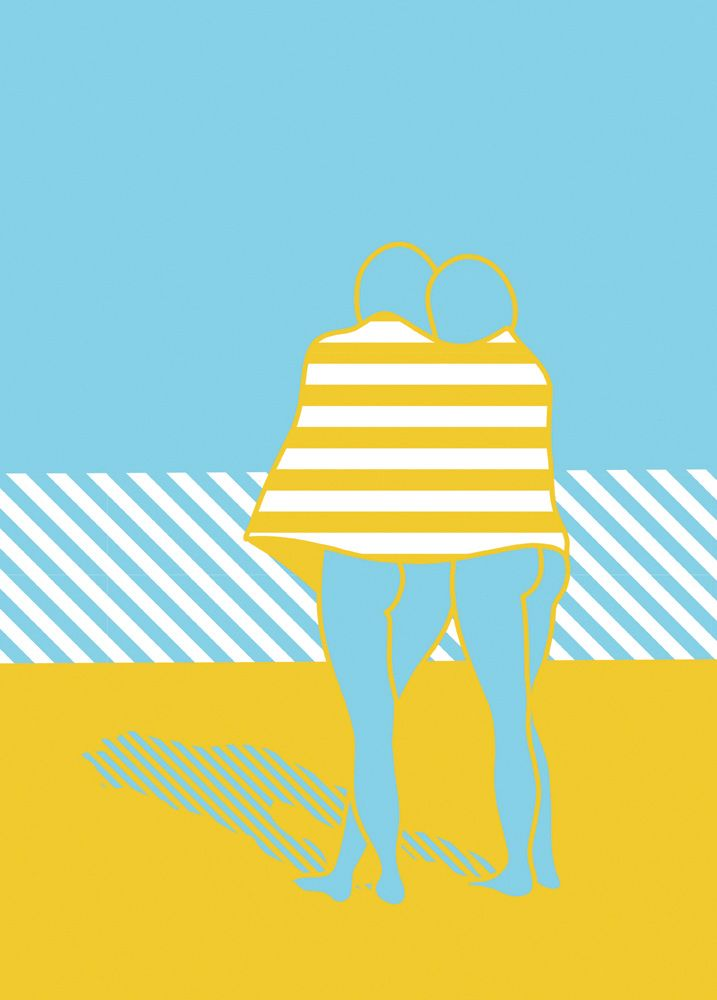 'On The Beach' - marina Esmeraldo