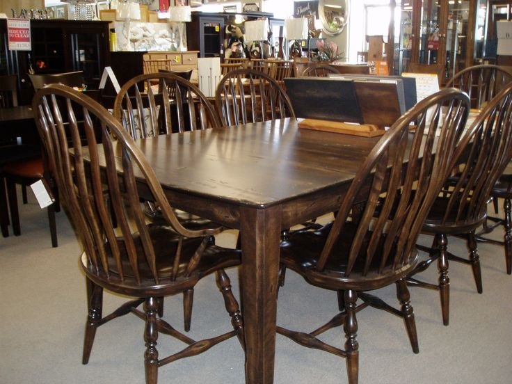 Beautiful Canadian Made Distressed Birch Table From Bermex. Choose The  Size, Finish, Stain