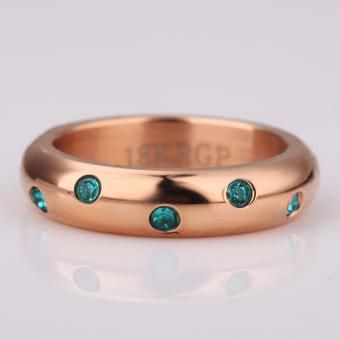 Dew Drops 18 Karat Gold Plated Ring