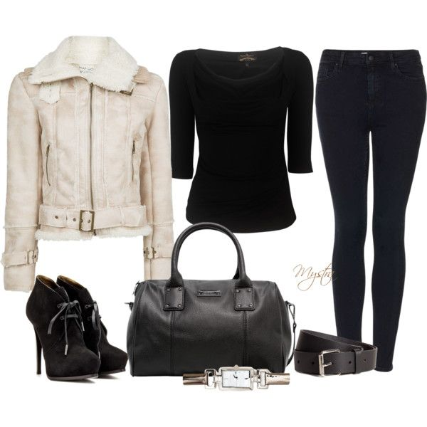 """Black and nude"" by cafemystra on Polyvore"