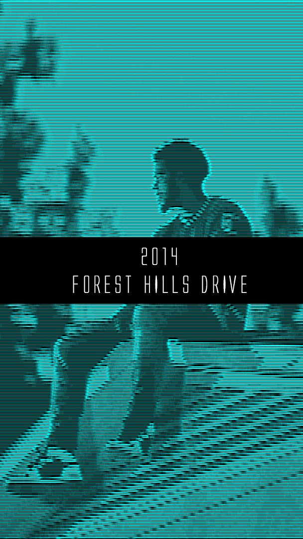 J. Cole 2014 Forest Hills Drive iPhone Wallpaper