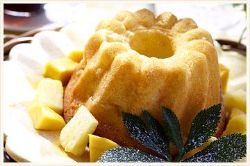 パイナップルのケーキ