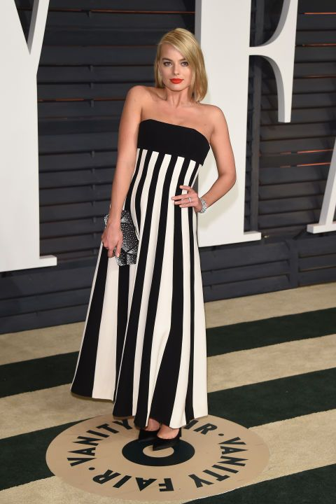Margot Robbie. See what all the stars wore to the Academy Awards' biggest after party.