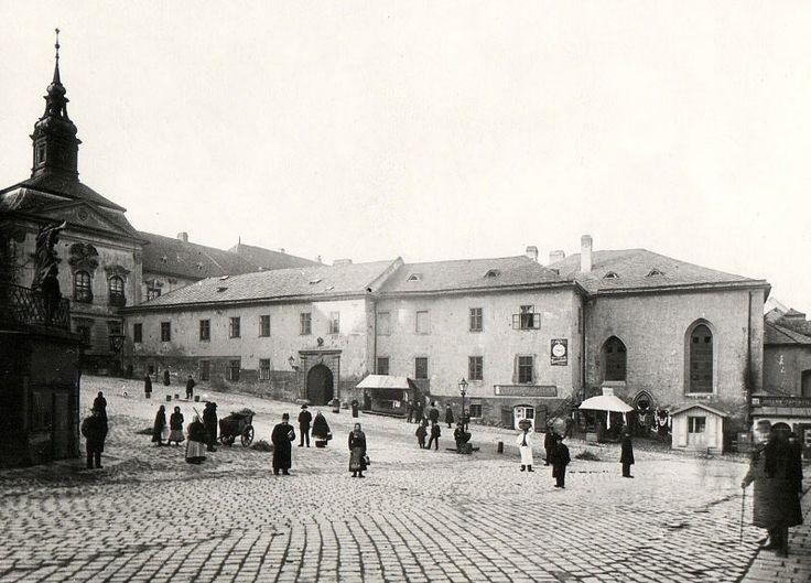Královská kaple, Brno 1904
