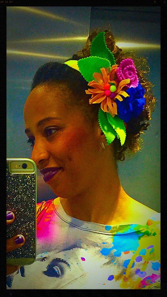 Headband  de feltro colorida!!