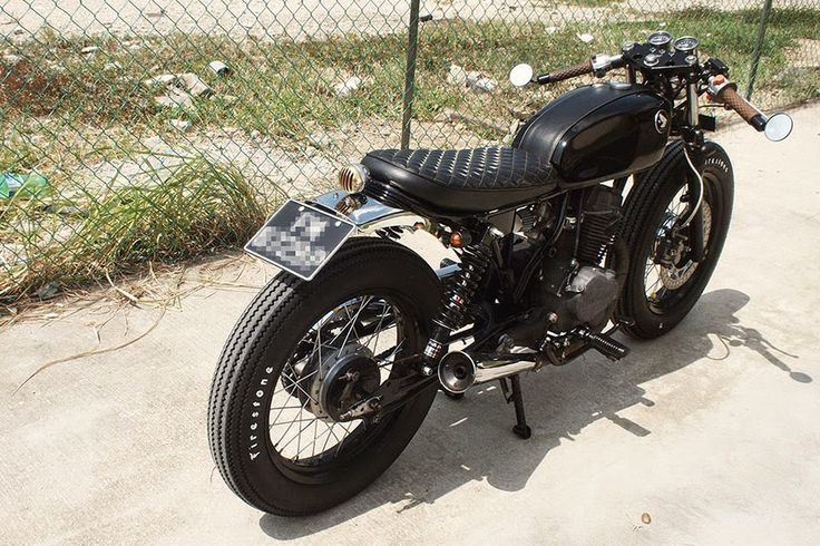 Vicious Honda CM125 Cafe Racer ~ Return of the Cafe Racers