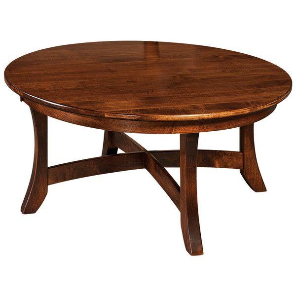Carona Coffee Table   Amish Tables Choose Your Wood U0026 Finish