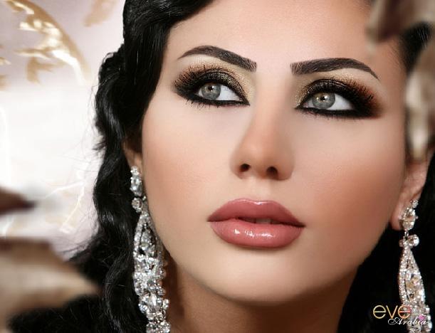 Exotic Wedding Makeup : lebanese style,exotic, makeup, smokey eyes, nude lipstick ...
