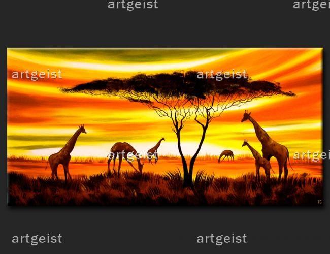 Sen o Kenii oraz inne obrazy etniczne inspirujące się krajobrazami Afryki i jej wspaniałej przyrody znajdziesz w sklepie internetowym www.artgeist.pl #obrazy #recznie #malowane #tryptyki #dekoracje #ścienne #sztuka #malarstwo #wnętrza #pejzaż #etniczne #afryka