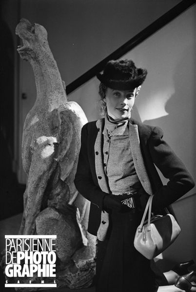 Modèle Madeleine de Rauch - Paris, août 1939 - Photo de  Boris Lipnitzki