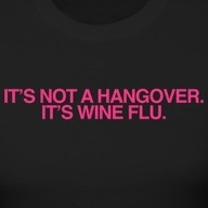 Yes! I knew it wasn't really a hangover!