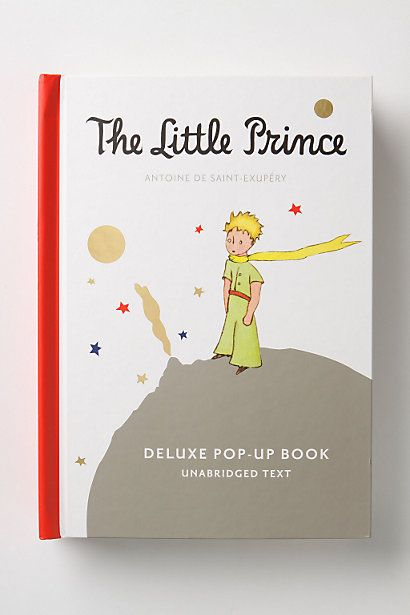 The Little Prince pop-up book $35
