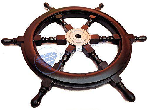 Nautical Handcrafted Wooden Ship Wheel - Home Wall Decor ... https://www.amazon.com/dp/B01DO73V60/ref=cm_sw_r_pi_dp_x_ZXoHybTKD19H3