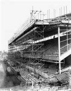 Highbury East Stand Work 1936.