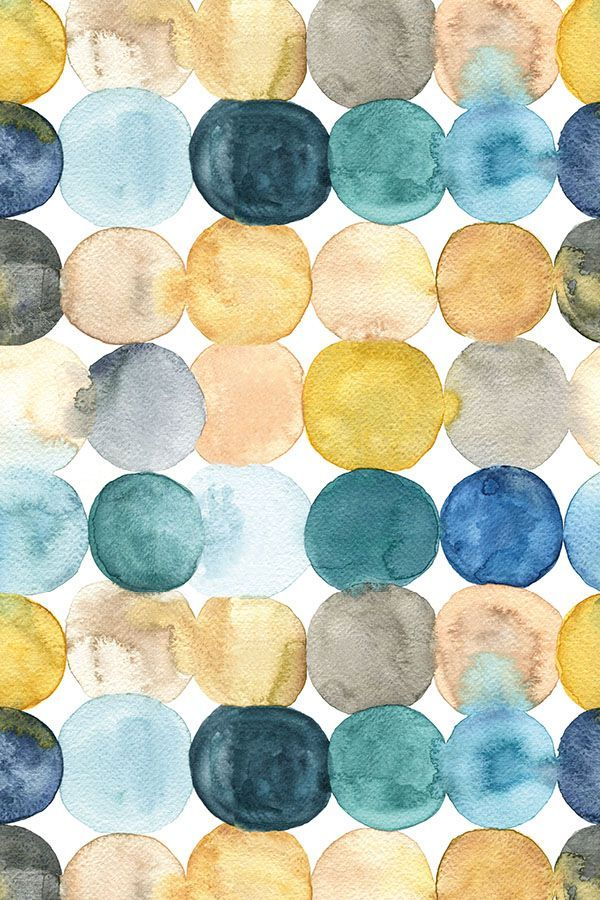 Colorful Fabrics Digitally Printed By Spoonflower Painted Dots