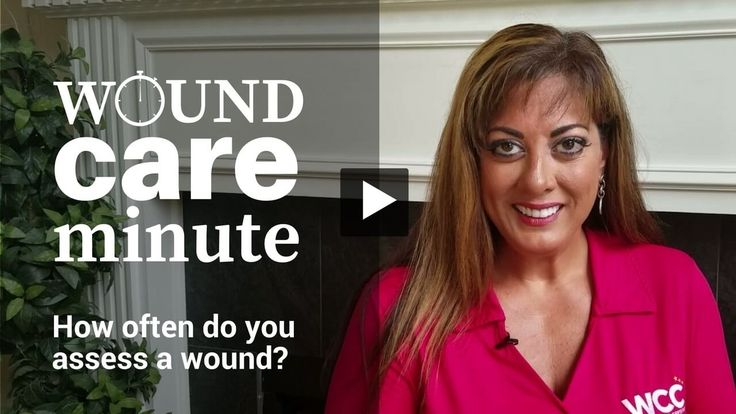 Got a minute? Make it a Wound Care Minute!!! In this video, WCEI co-founder Nancy Morgan discusses how often wounds need to be assessed.  via @woundcareeducat
