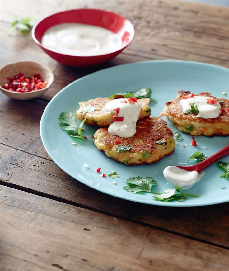 Zucchini and carrot fritters by Jane Kennedy from One Dish Two Ways | Cooked