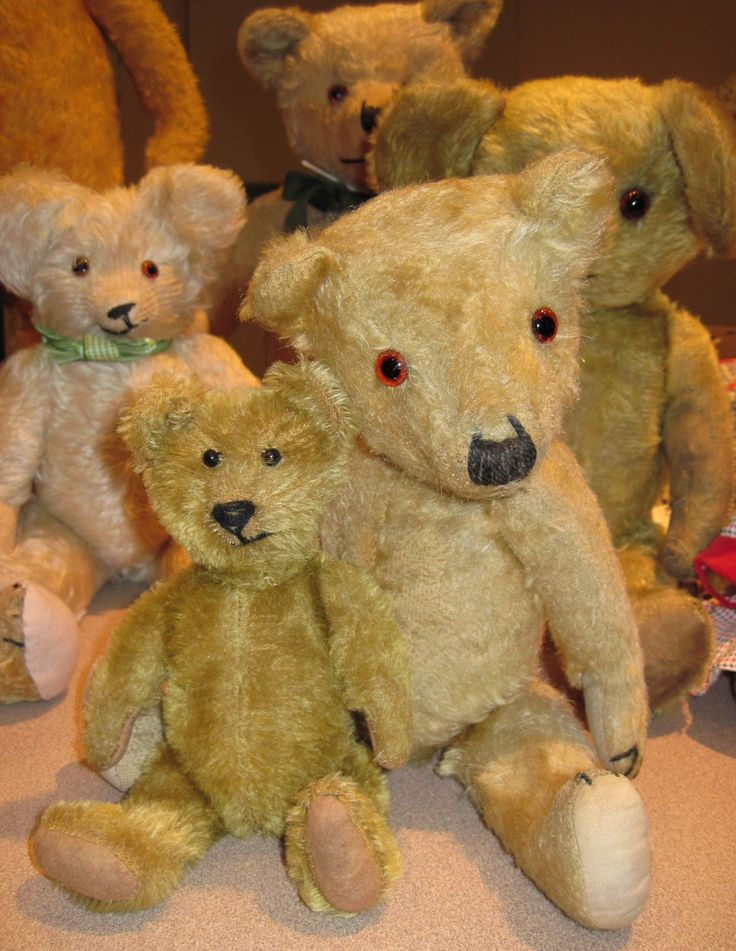Antique Teddy Bears | Tracy's Toys (and Some Other Stuff): Antique Teddy Bears