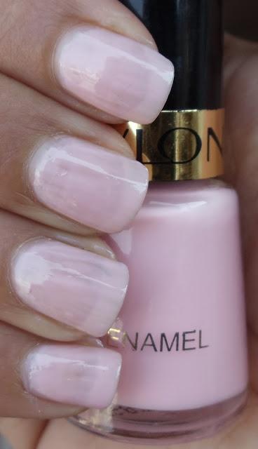 Revlon nail polish in Pink Chiffon.